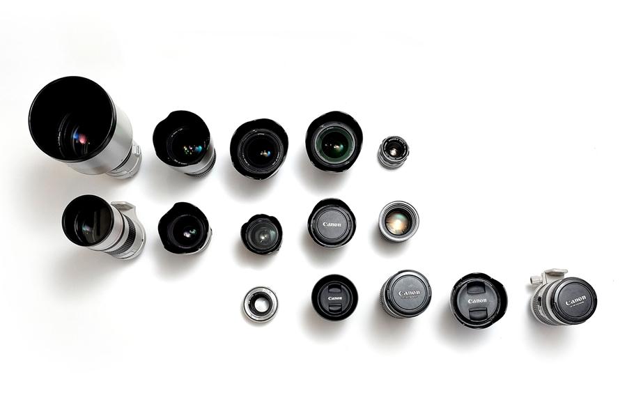 your dots  camera lenses