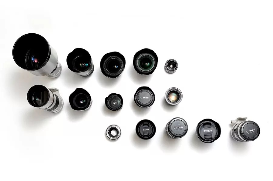 your dots  camera lenses