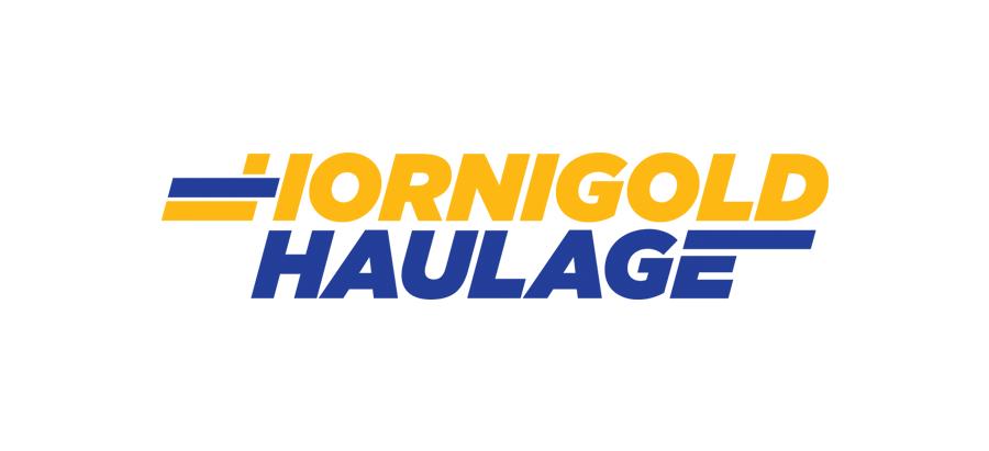 Hornigold Haulage branding and logo design