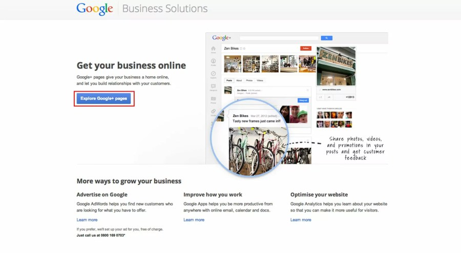 Creating a Google Plus Profile for Your Business | Google