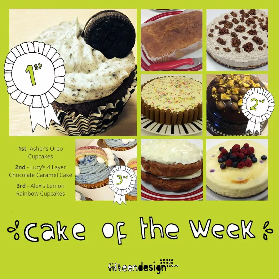 Fifteen Cake of the Week bake off