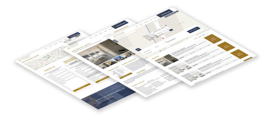 Severns Property Rental Website