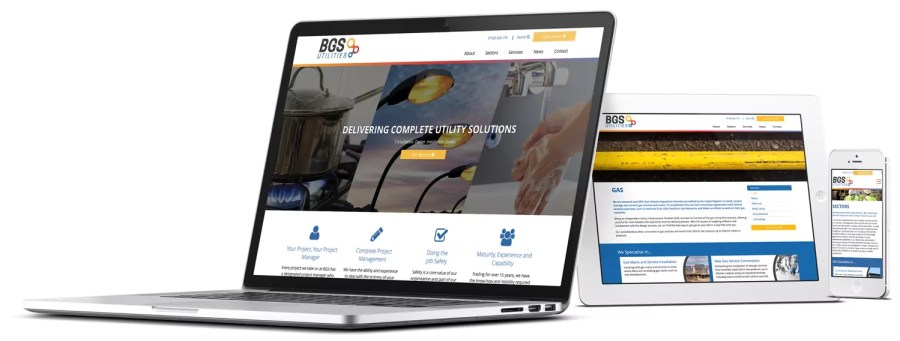 New Website Development BGS