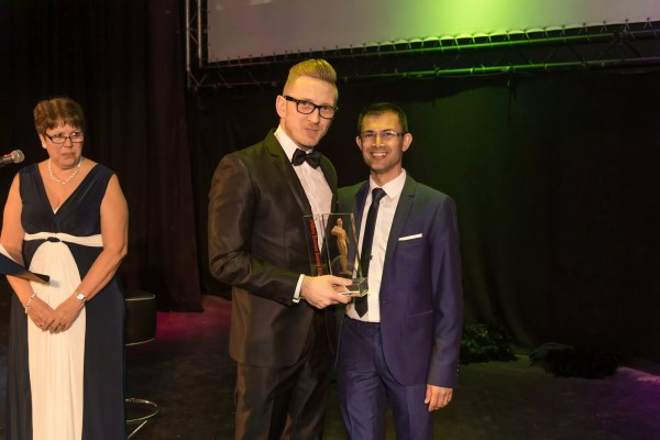 Ollie's Named Entrepreneur of the Year at the Midlands Business Awards