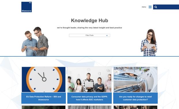 bluesource knowledge hub