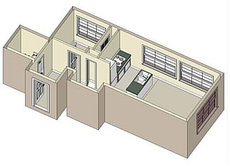 1 Bed / 1 Bath / 675 sq ft / Rent: $928