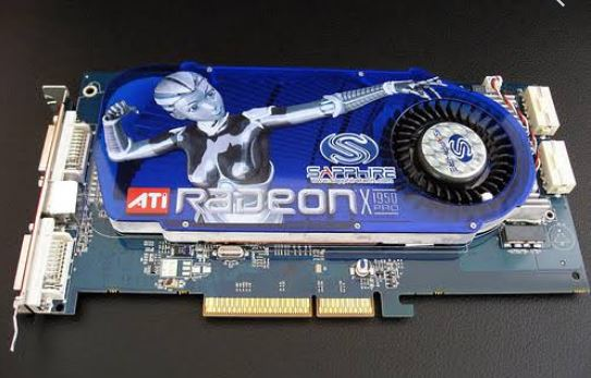 Graphics card installation
