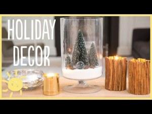Υπέροχα διακοσμητικά από αλάτι και κανέλα για τα Χριστούγεννα [video]