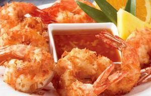 Νόστιμες γαρίδες tempura!