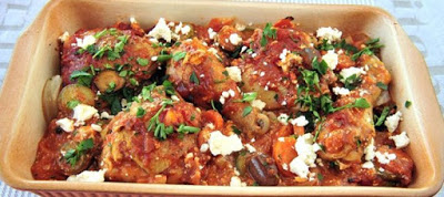 Read more about the article Στήθος κοτόπουλο στο φούρνο με πιπεριές και πατάτες