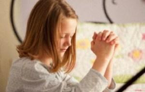 Εύκολες προσευχές για μικρά παιδιά