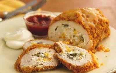 Γευστική συνταγή: Ρολό κοτόπουλο με τυρί