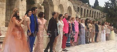 Read more about the article Εντυπωσίασε το fashion show του Βασιλείου Κωστέτσου στο Ηρώδειο –Αποκλειστικά πλάνα(govastileto.gr)