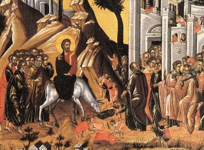 Το Άγιο Πάσχα:Κυριακή των Βαΐων