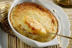 Πατάτες με τυριά στο φούρνο