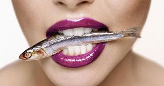 Η κατανάλωση ψαριού κατά του πολύποδα στις γυναίκες