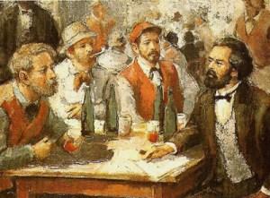 Το κρασί έκανε τον Μαρξ κομμουνιστή