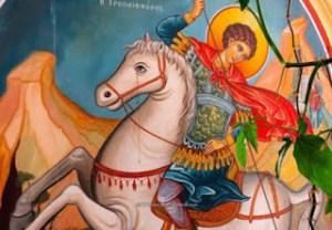 Όταν δάκρυσε το άλογο στην εικόνα του Αγίου Γεωργίου στην Κύπρο (ΦΩΤΟ)
