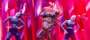 Eurovision 2018: Πήρε «φωτιά» η σκηνή με τη «Fuego» εμφάνιση της Ελένης Φουρέιρα