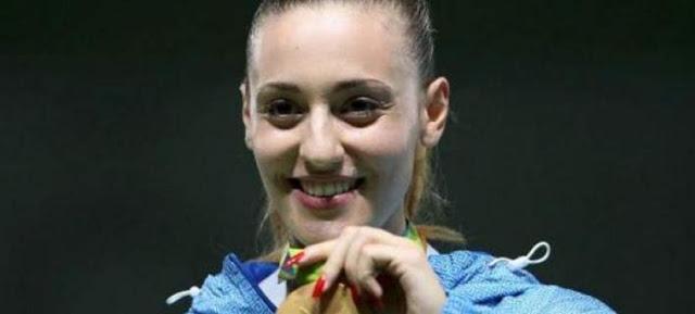 Xάλκινο μετάλλιο για την Κορακάκη στο Παγκόσμιο Κύπελλο