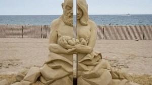 3ο φεστιβάλ γλυπτικής στην άμμο