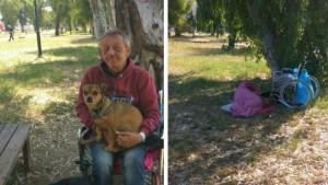 Πάτρα: Άστεγος καρκινοπαθής με μόνη συντροφιά δυο σκύλους