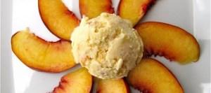 Εύκολη συνταγή για παγωτό ροδάκινο
