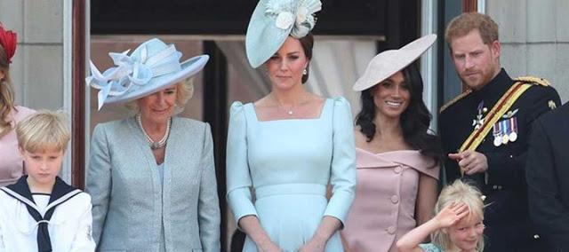 Read more about the article Meghan Markle: Η πρώτη της εμφάνιση στο μπαλκόνι του Buckingham!
