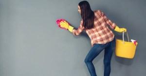 Ποιος είναι ο σωστός τρόπος για να καθαρίσετε τον βρόμικο τοίχο