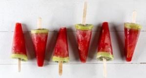 Popsicles καρπούζι με ακτινίδιο