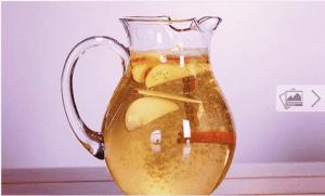 Νερό κανέλας με μήλο και λεμόνι για αδυνάτισμα: Τόσο υγιεινό!