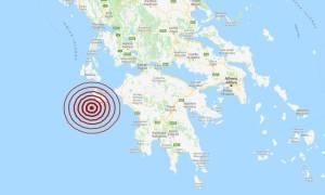 Σεισμός ΤΩΡΑ κοντά στη Ζάκυνθο – Αισθητός σε πολλές περιοχές (pics)