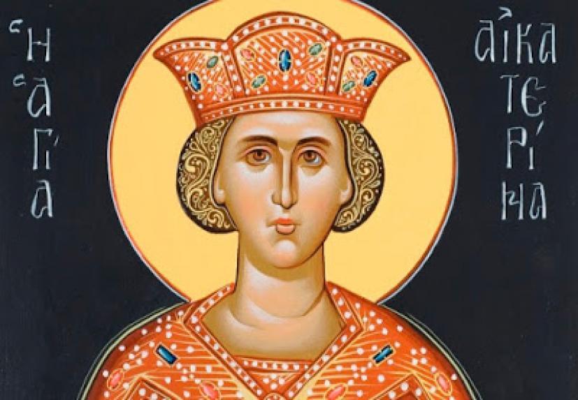 Η εμφάνιση της Παναγίας στην Αγία Αικατερίνη