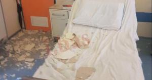 Κατέρρευσε το ταβάνι στο Κρατικό Νικαίας -Τραυματίστηκε μια μητέρα