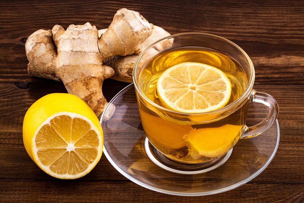 Τσάι από τζίντζερ, λεμόνι και μέλι για να μειώσετε το φούσκωμα ..fiftififti.eu