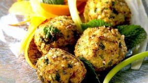 Μπουκιές κοτόπουλου με λαχανικά