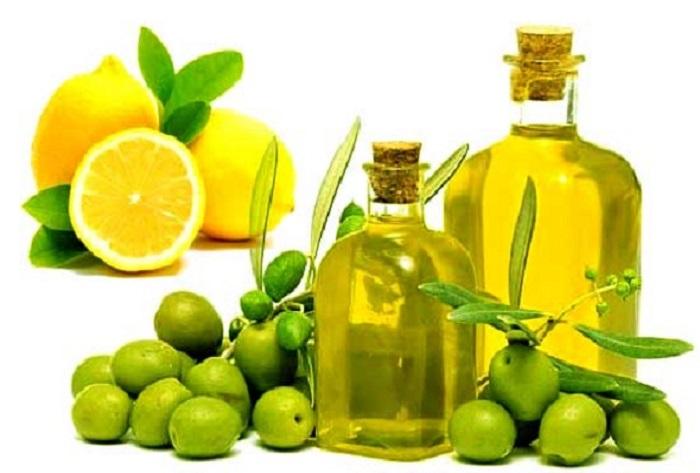 Λάδι και λεμόνι για τη θεραπεία της γαστρίτιδας