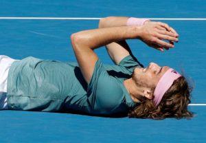 """Ο Τσιτσιπάς """"λύγισε"""" από τον Ναδάλ στο Australian Open"""