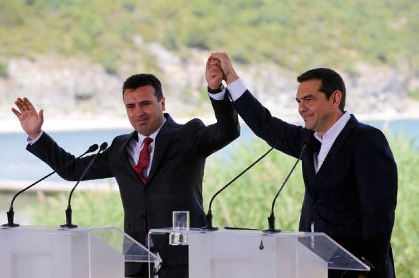 Προτείνουν Τσίπρα και Ζάεφ για το Νόμπελ Ειρήνης