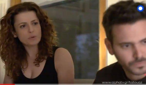 ΤΟ ΤΑΤΟΥΑΖ: Η Τατιάνα πιάνει στα πράσα τον Τόνυ με την Κασσάνδρα και τρελαίνεται!