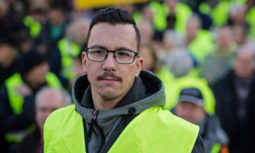 Ο ηγέτης των κίτρινων γιλέκων στη Γερμανία είναι Έλληνας..