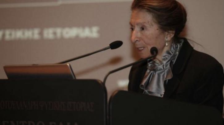 Read more about the article Πέθανε η Νίκη Γουλανδρή Έφυγε από τη ζωή σε ηλικία 94 ετών, η βοτανική ζωγράφος και ευεργέτιδα Νίκη Γουλανδρή, η οποία μαζί με τον σύζυγό της ίδρυσε το μουσείο Φυσικής Ιστορίας.