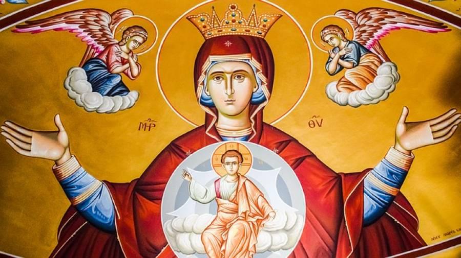 Προσευχή στην Παναγία: Προστρέχω σε Σένα, Μητέρα μου…