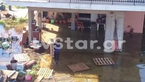 Σε κατάσταση έκτακτης ανάγκης η Χαλκίδα – Οι κάτοικοι εγκαταλείπουν τα σπίτια τους