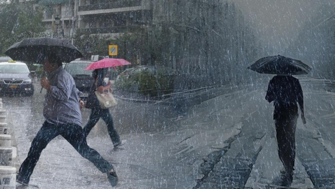Καιρός: Βροχές, καταιγίδες, ακόμα και… χιονοπτώσεις μέχρι την Παρασκευή