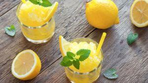 Γρανίτα λεμόνι