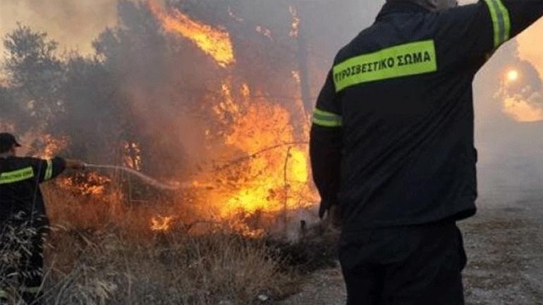 Πύρινα μέτωπα σε Ηλεία και Αρκαδία – Μεγάλη κινητοποίηση της Πυροσβεστικής