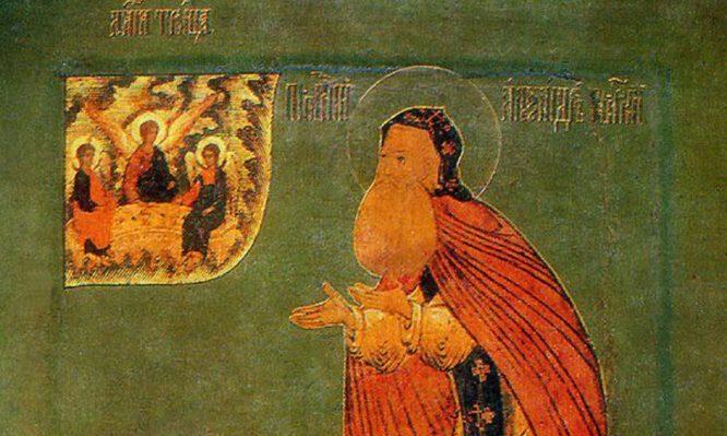 Σήμερα τιμάται ο Άγιος Αλέξανδρος Σβιρ
