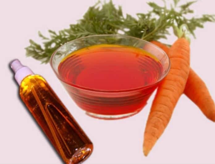 Λάδι μαυρίσματος με καρότο