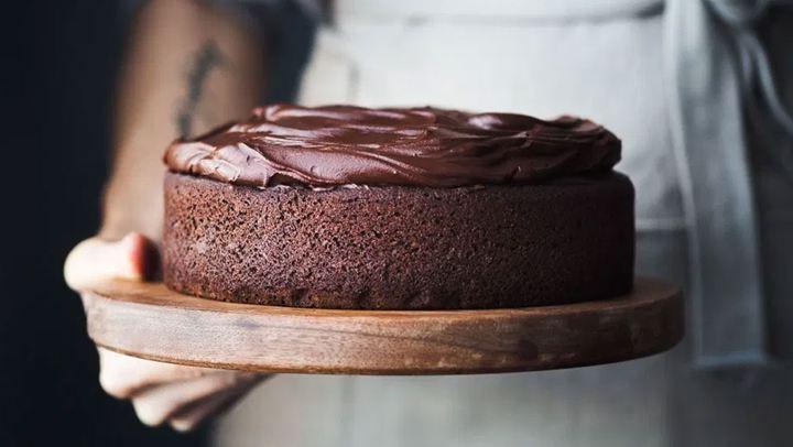 Λαχταριστό κέικ σοκολάτας με στέβια!